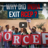 RCEP free-trade agreement : the meaning of India's exit
