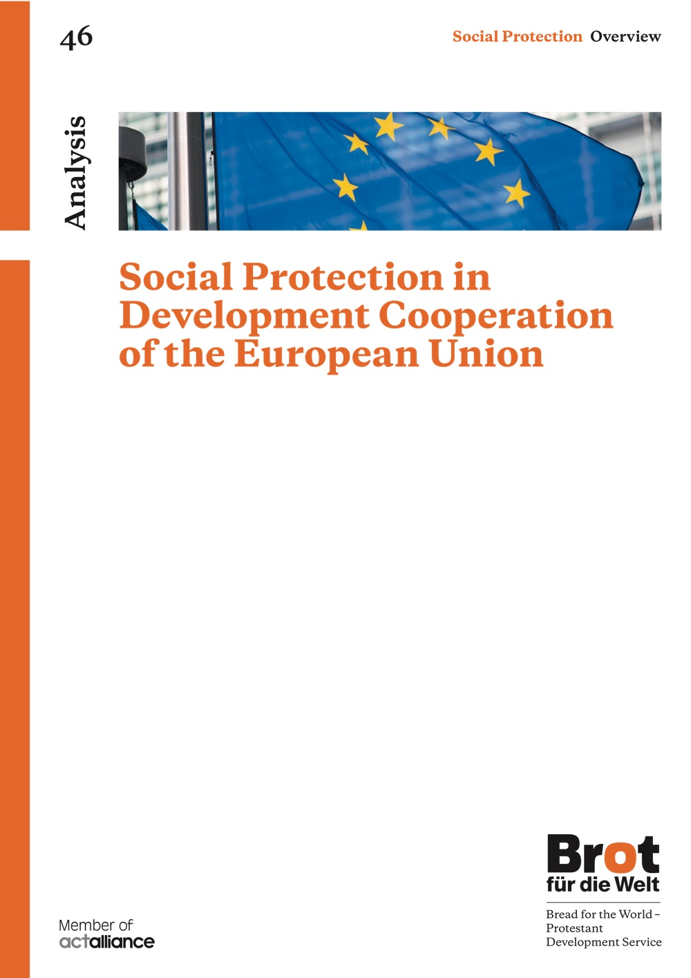 Social Protection in Development Cooperation of the European Union